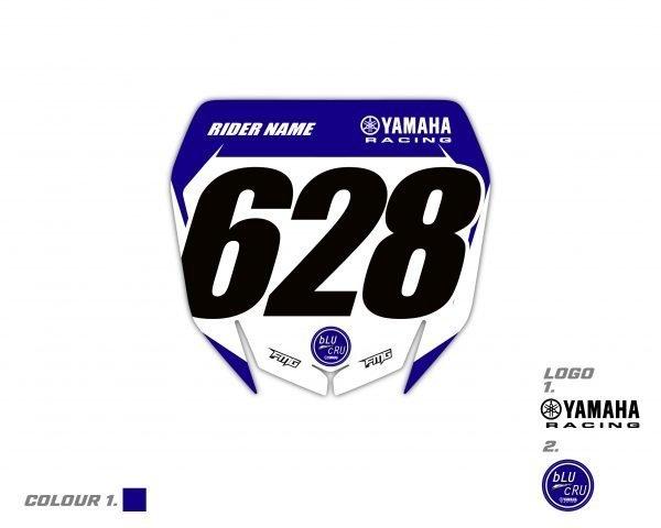 Yamaha Front Plate Graphics