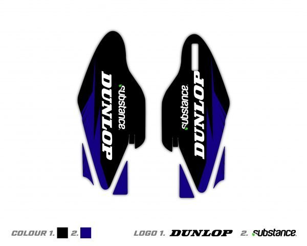 Custom Yamaha Fork Decals