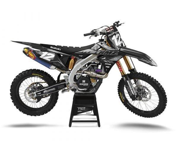 Suzuki Custom Motocross Graphics