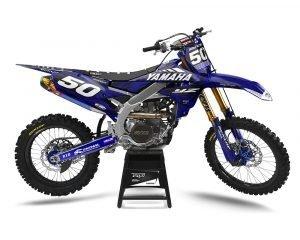 Camo Yamaha Motocross Decals UK