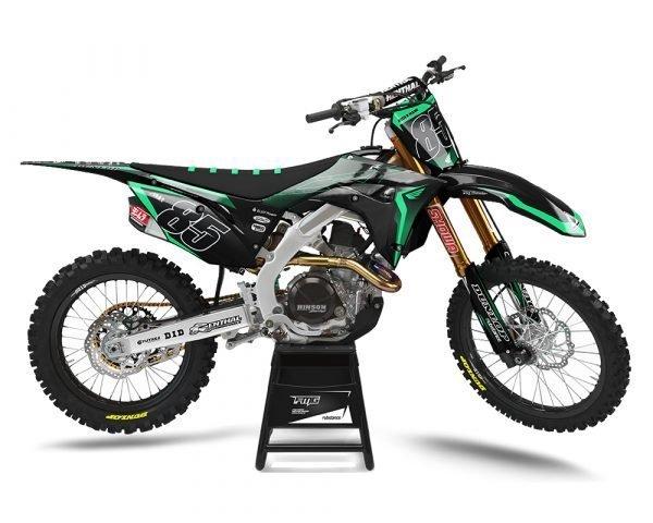 Honda Custom Motocross Decals