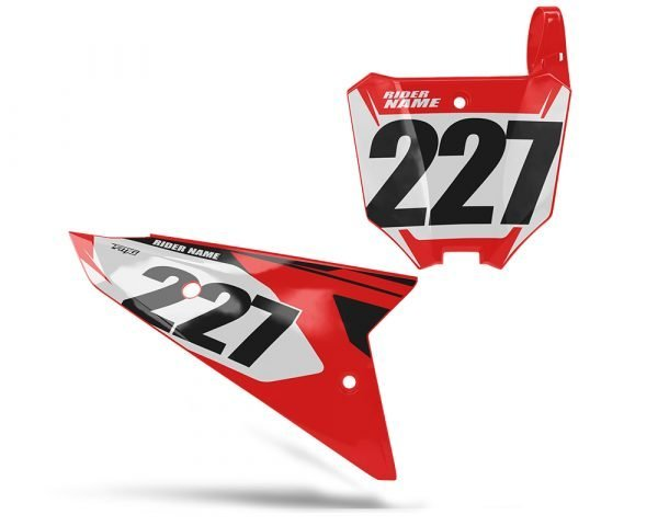CRF 450 2021 Number Board Graphics