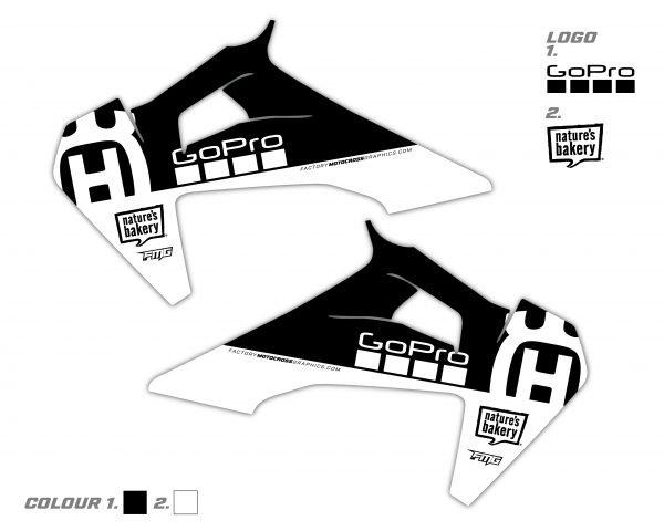 Husqvarna Radiator Shroud Graphic FC