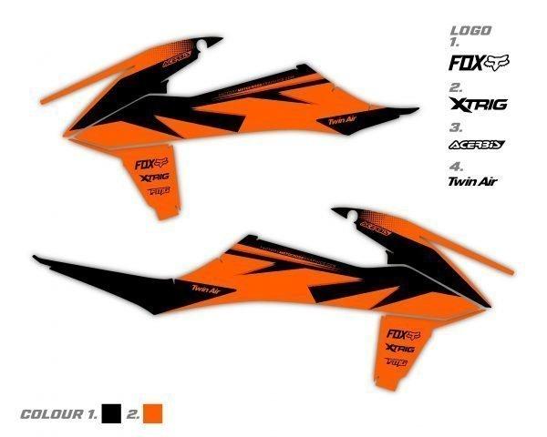 KTM Rad Shroud Graphics