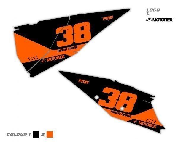 Custom KTM Side Board Decals