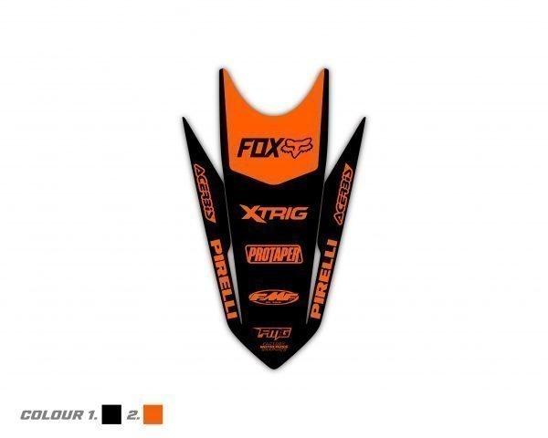 Custom KTM Rear Fender Graphics