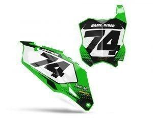 Green Kawasaki Backgrounds
