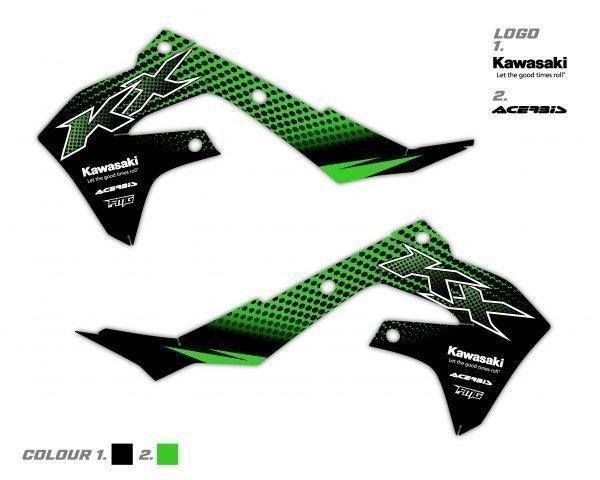 Kawasaki Rad Scoop Graphics