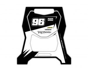 Motocross Custom Stand Graphics