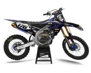 Yamaha Blue Graphics Kit