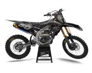 Camo YZF Motocross Decals