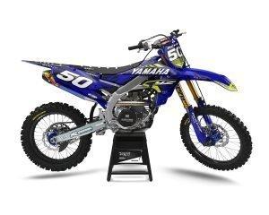 Camo Yamaha Motocross Decals