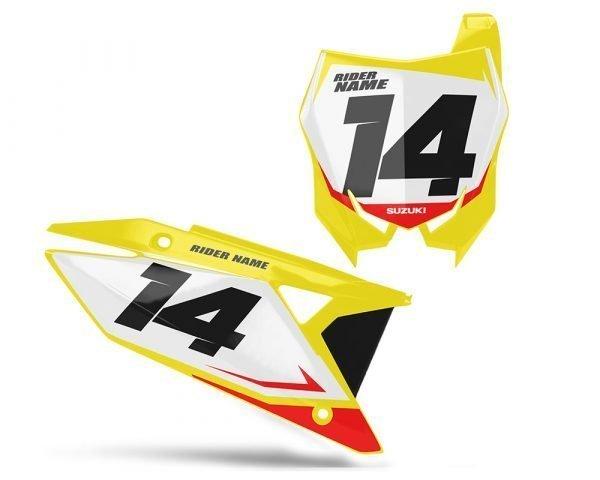 Suzuki RMZ Backgrounds Yellow