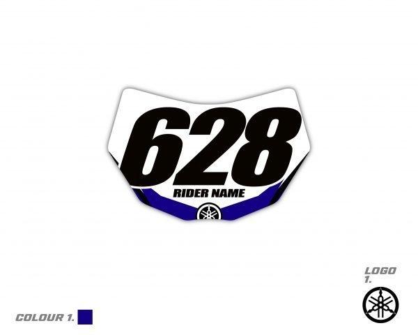 Yamaha Enuro Headlight Graphic