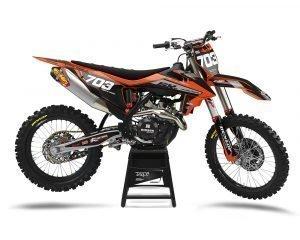 Custom KTM SX SXF Motocross Decals