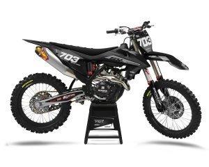 Black Grey KTM MX Decals