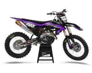 KTM Purple Motocross Decals