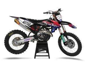 Custom Black KTM Decals