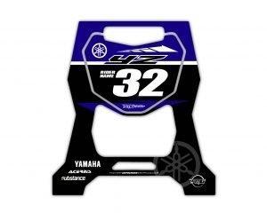 Custom Stand Stickers Yamaha