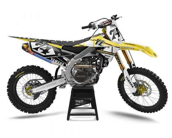Retro Yamaha Motocross Decals