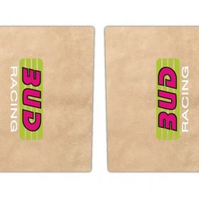 Bud Racing Fork Decals