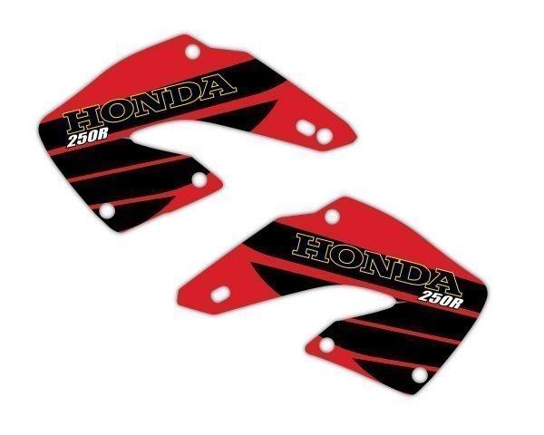 Honda Retro Radiator Shroud Graphics