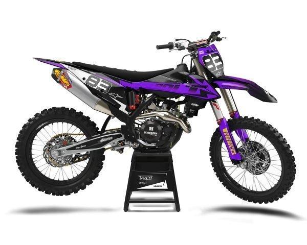Purple KTM Motocross SX50 SX65 SX85