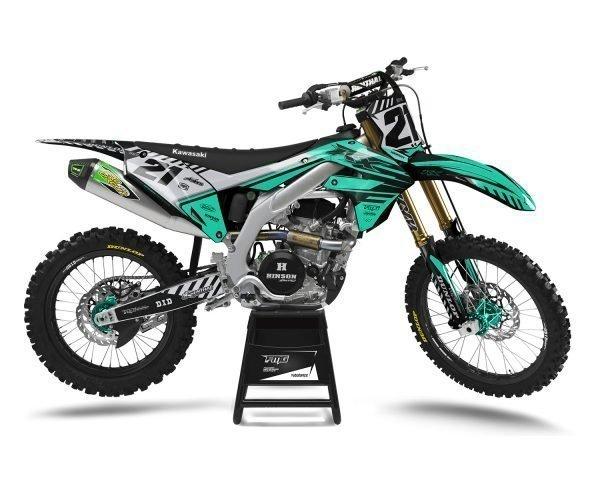 Custom Kawasaki MX Decals
