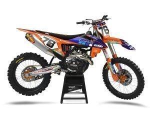 Orange KTM MX Enduro Graphic Kits